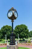 Iconic Clock at Trump National Golf Club Charlotte
