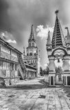 The iconic complex Izmailovskiy Kremlin in Moscow, Russia Royalty Free Stock Photography