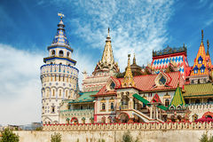The iconic complex Izmailovskiy Kremlin in Moscow, Russia Stock Photography