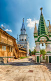 The iconic complex Izmailovskiy Kremlin in Moscow, Russia Royalty Free Stock Photo