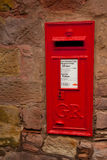 Iconic English Post Box Stock Photo
