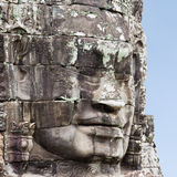 Iconic Faces of Bayon Cambodia Royalty Free Stock Images