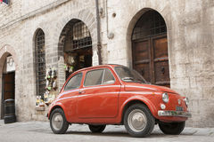 Iconic Fiat 500. Stock Photos