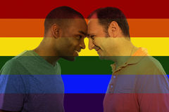 Iconic Gay Image Style Stock Photography