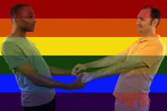 Iconic Gay Image Style Royalty Free Stock Images