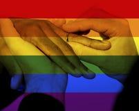 Iconic Gay Image Style Stock Photo