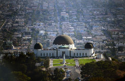 Iconic Griffith Observatory in Los Angeles, California Royalty Free Stock Photos