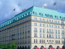 The Iconic Hotel Adlon in Berlin Stock Photo
