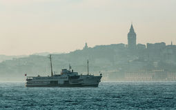 Iconic Istanbul View Stock Photo