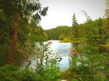 Iconic lake Sylvia stock photos