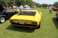 Iconic lambo at car event Royalty Free Stock Images