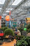 The Iconic Mall of America, Bloomington, Minnesota, USA. Opened in 1992, it is the largest mall in the United States in terms of number of stores and total floor Stock Image