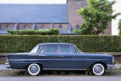 Iconic Mercedes sedan 'fintail' Stock Images
