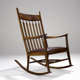 Iconic Modern Design Rocking Chair Stock Photography