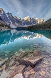 The Iconic Moraine Lake stock images
