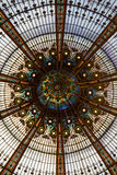 Galeries Lafayette Dome Royalty Free Stock Photos