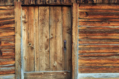 Iconic Moulton Barn door Stock Images