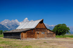 The iconic Moulton barn in Grand Teton National Park, Stock Photos