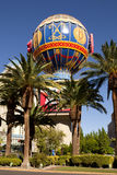 The iconic Paris Casino balloon along the Las Vegas Strip Stock Photo