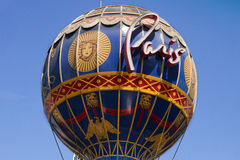 The iconic Paris Casino's Montgolfier hot air balloon Royalty Free Stock Images