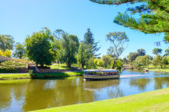 Iconic Pop-Eye boat in Torrens River Stock Photos