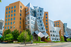 Iconic Postmodern Architecture. Of MIT Strata Center, Cambridge, USA royalty free stock photography