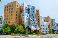 Iconic postmodern arkitektur Royaltyfri Fotografi