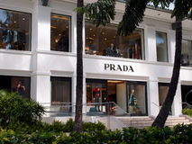 Iconic Prada store Royalty Free Stock Photography
