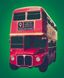Iconic Red London Bus Royalty Free Stock Images