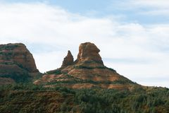 The iconic red roacks of Sedona. Will simply teke your breath away Royalty Free Stock Photography