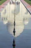 Iconic reflection of Taj Mahal Royalty Free Stock Photography
