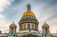 The iconic Saint Isaac's Cathedral in St. Petersburg, Russia Royalty Free Stock Image