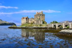 Iconic Scottish castle Stock Photography