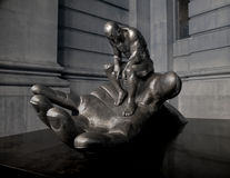 Iconic Sculpture. The Hand of God Royalty Free Stock Photography