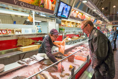 Iconic seafood market in Gothenburg, Sweden Royalty Free Stock Photo