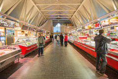 Iconic seafood market in Gothenburg, Sweden Stock Photography