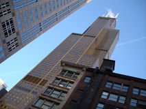 Iconic Sears Tower in Chicago Royalty Free Stock Photos
