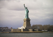 The iconic Statue of Liberty Royalty Free Stock Photos
