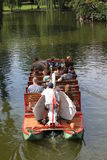 Iconic Swan Boat Boston Public Garden Royalty Free Stock Photos