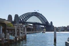 Iconic Sydney Harbour bridge Royalty Free Stock Photography