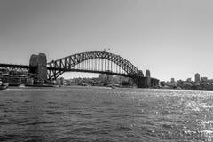 Iconic Sydney Harbour bridge Royalty Free Stock Images