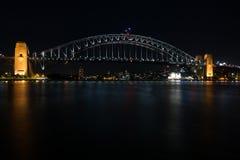 Iconic Sydney Harbour bridge Stock Photography