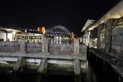 Iconic Sydney Harbour bridge Stock Photos