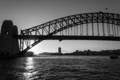 Iconic Sydney Harbour bridge Stock Images