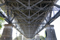 Iconic Sydney Harbour bridge Royalty Free Stock Photos