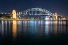 Iconic Sydney Harbour bridge Stock Image
