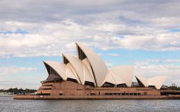 The Iconic Sydney Opera House. Sydney, Australia - July 11, 2010 : The Iconic Sydney Opera House is a multi-venue performing arts centre also containing bars and royalty free stock image