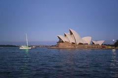 Iconic Sydney Opera House, Sydney, Australia stock photo