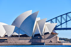 Iconic Sydney Opera House Royalty Free Stock Image
