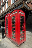 Iconic Telephone Booth, in London, England Stock Image